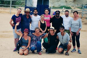 Mindfulness, Yoga and Equine Assisted Retreats in Malta. Groupatthefarm